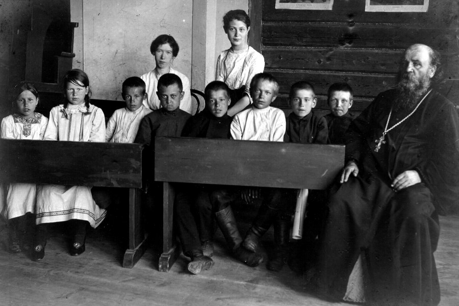О школах в царской и советской России