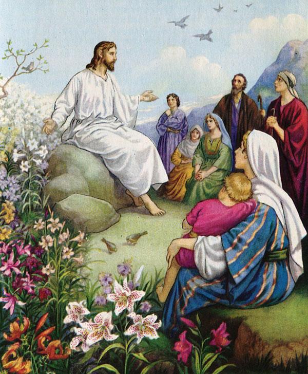 примеры и иллюстрации к проповедям люди